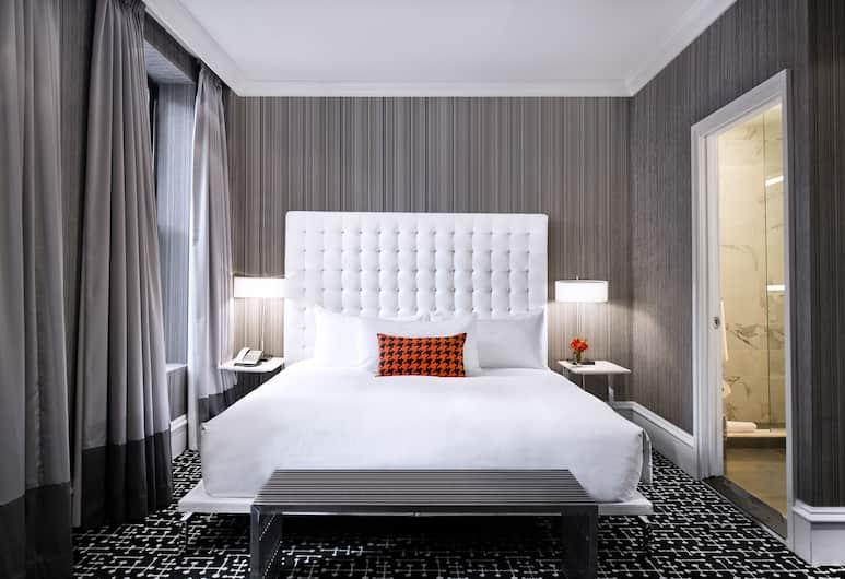 The Moderne, New York, Suite, 1 kingsize-seng med sovesofa, Gjesterom