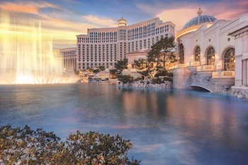 Fotografia do Bellagio em Las Vegas