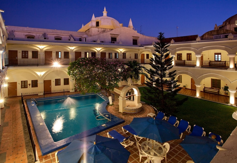 Holiday Inn Centro Historico, Veracruz, Utendørsbasseng