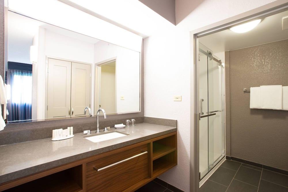スイート 1 ベッドルーム 禁煙 バルコニー - バスルーム