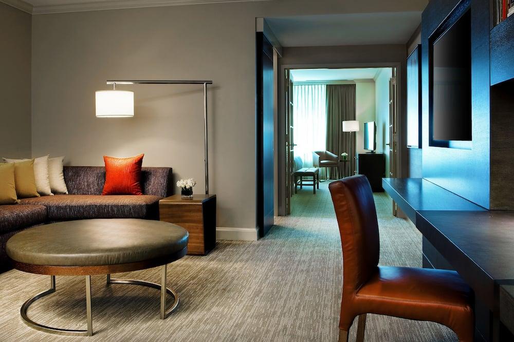 Numeris, 1 miegamasis (High Floor) - Svetainės zona