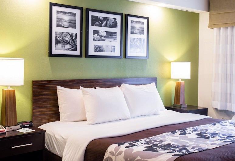 納什維爾斯利普酒店, 納許維爾, 標準客房, 1 張特大雙人床, 非吸煙房, 客房