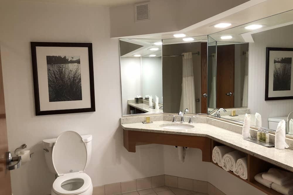 Suite, 1 kingsize bed, Toegankelijk voor mindervaliden, niet-roken - Badkamer