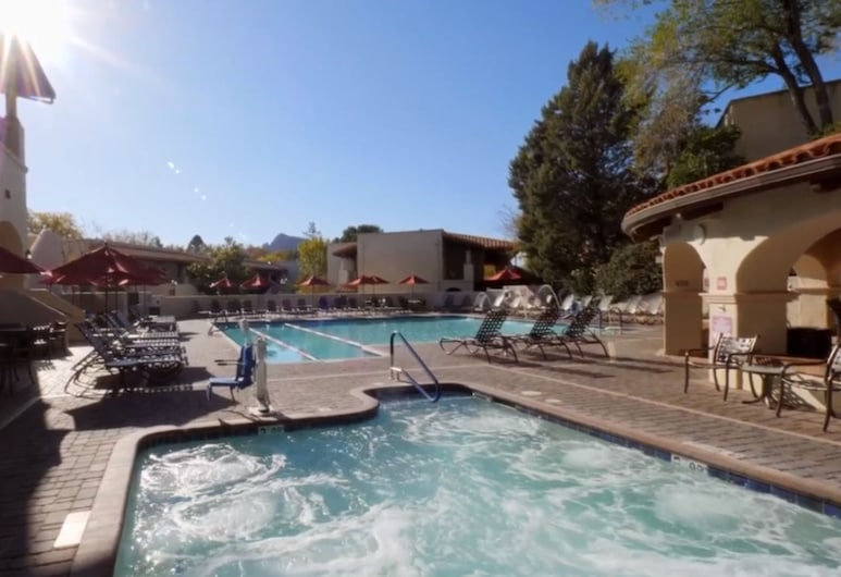 Los Abrigados Resort And Spa by Diamond Resorts, Sedona, Außen-Whirlpool