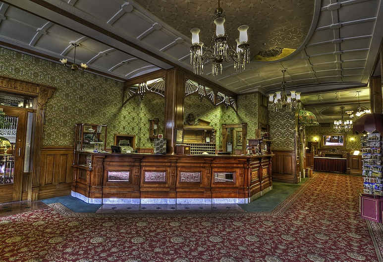 Historic Strater Hotel, Durango, Receptie