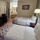 Paaugstināta komforta numurs, 2 divguļamās gultas, smēķētājiem - Viesu numurs