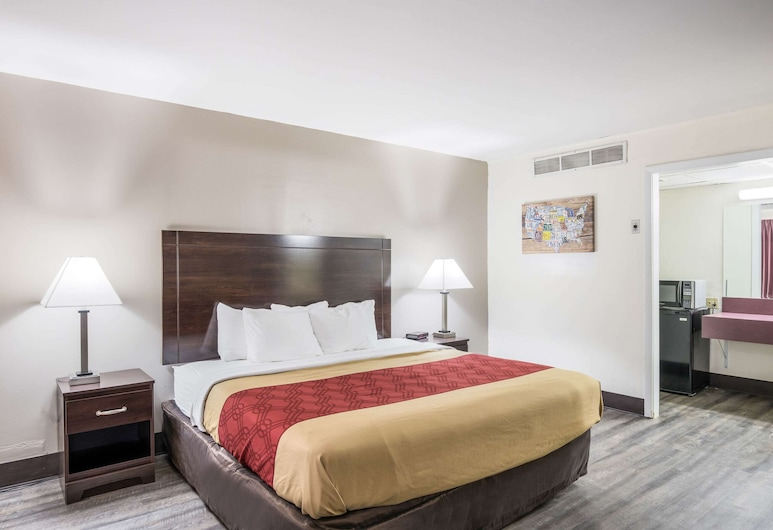 Econo Lodge Cameron, Cameron, Habitación, 1 cama King size, para no fumadores, planta baja, Habitación