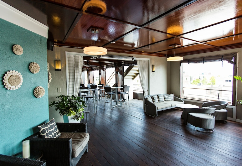 The Vendue, Charleston, Bar dell'hotel