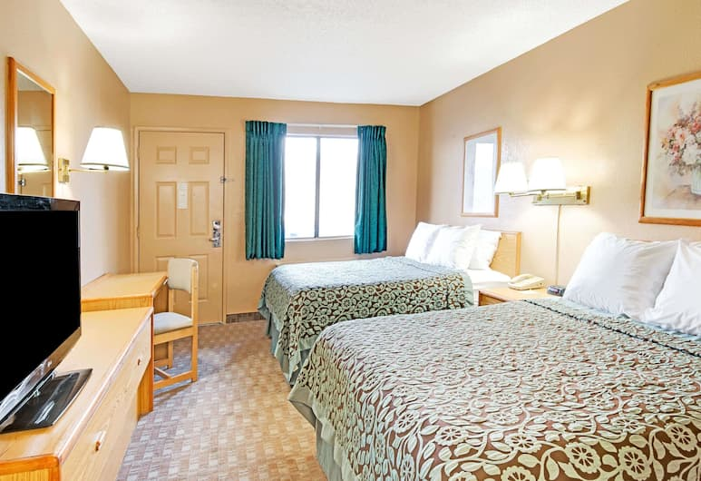 Days Inn by Wyndham El Paso Airport East, El Paso, Standaard kamer, 1 kingsize bed, niet-roken, Kamer