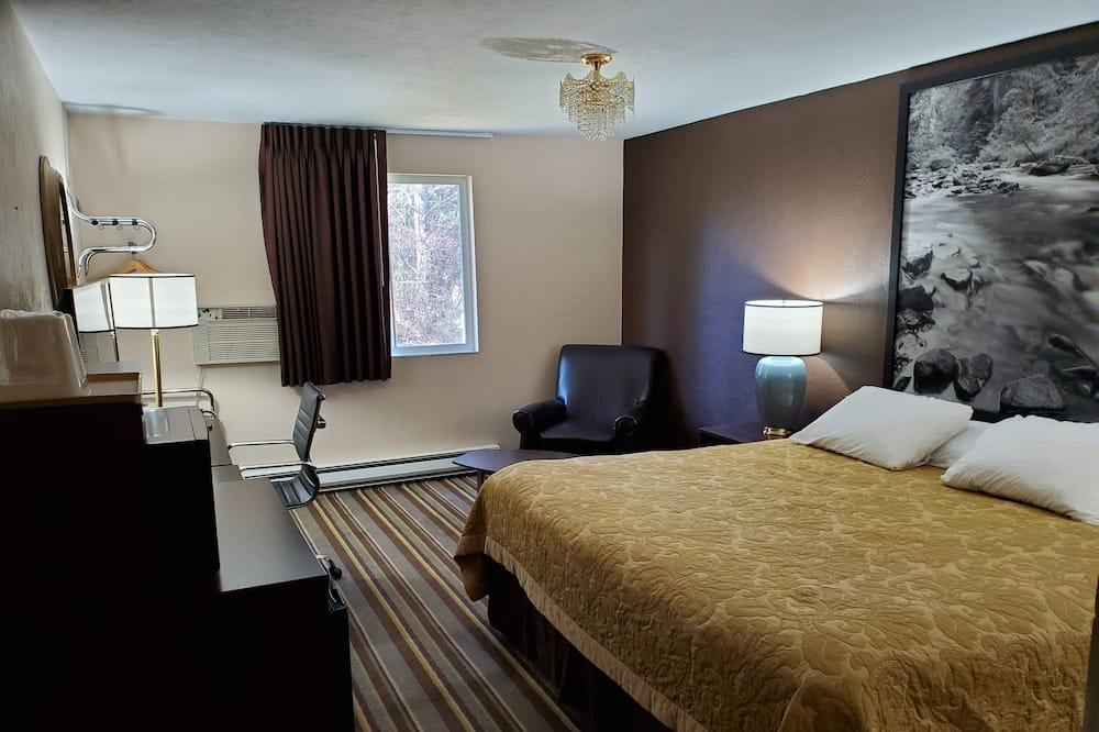 Standarta numurs, 1 divguļamā karaļa gulta, ledusskapis - Dzīvojamā istaba