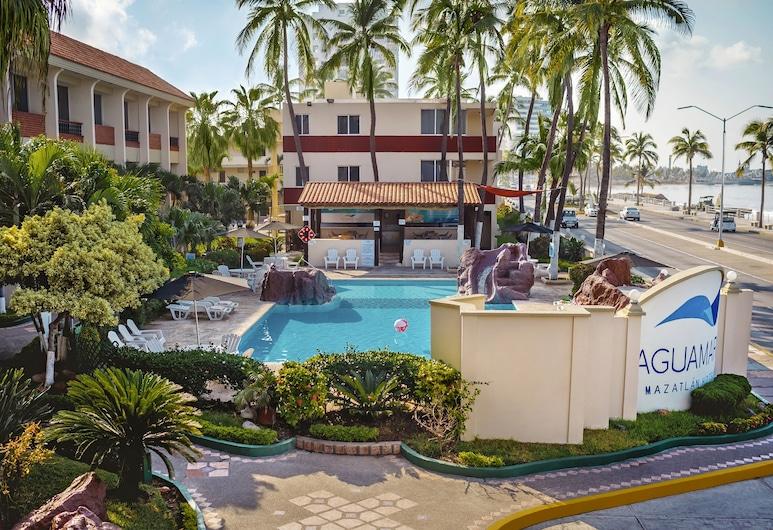 Aguamarina Hotel, Mazatlan, Outdoor Pool