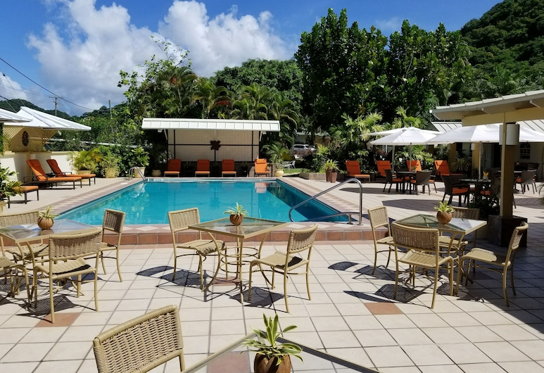 Blue Horizons Garden Resort, סנט ג'ורג', בריכה חיצונית