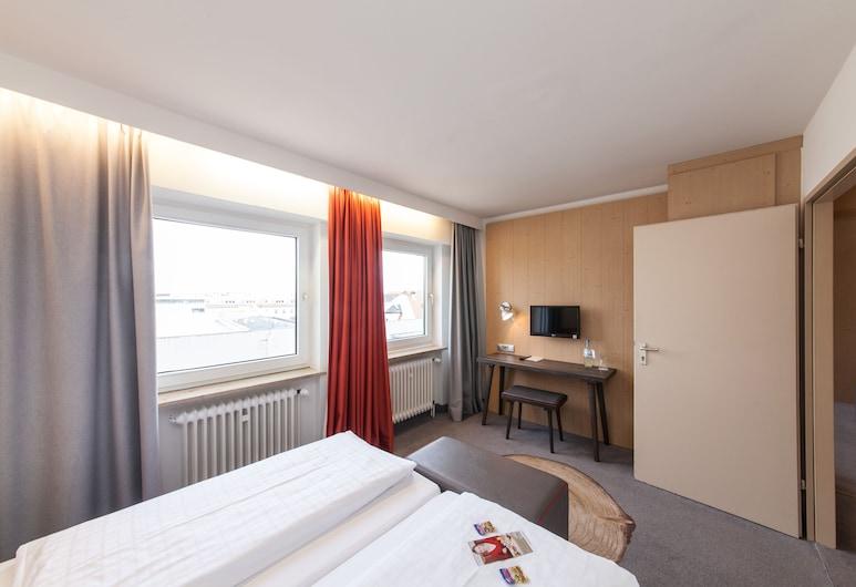 ホテル ミュンヘン アム ハウプトバーンホフ, ミュンヘン, スーペリア ダブルルーム, 部屋