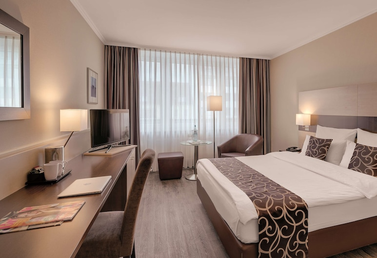 Best Western Hotel Darmstadt Mitte, Дармштадт, Номер «Комфорт», 1 двуспальная кровать «Кинг-сайз», для некурящих, Номер