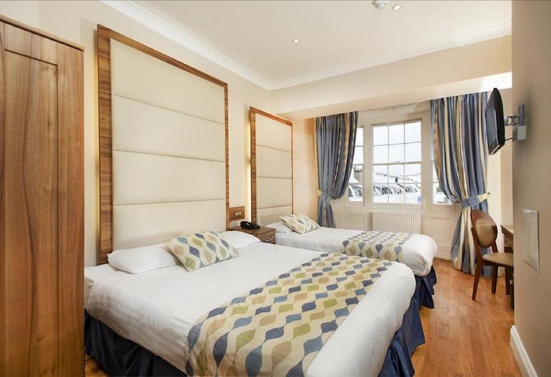 Royal Eagle Hotel, London, Standard-Vierbettzimmer, Zimmer