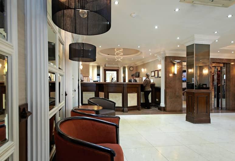 Royal Eagle Hotel, London, Lobi