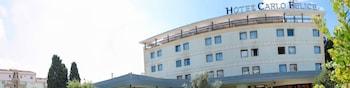 Selline näeb välja Hotel Carlo Felice, Sassari