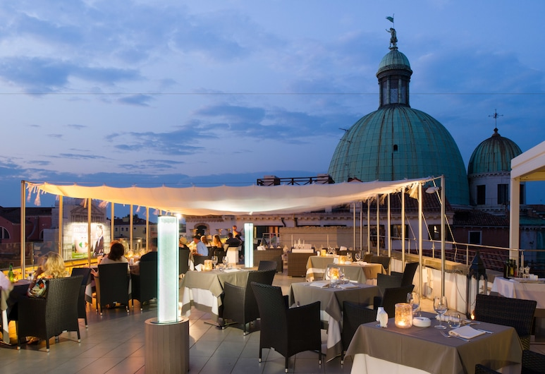 Hotel Carlton on the Grand Canal, Venise, Terrasse/Patio