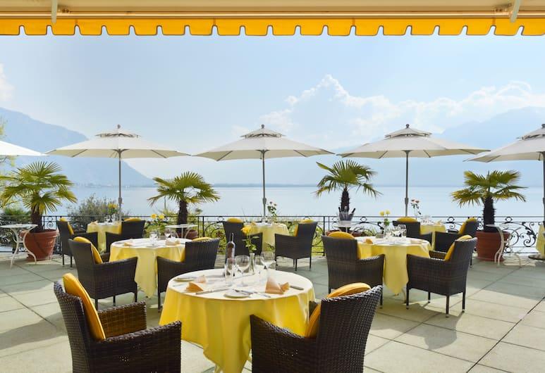 Golf Hotel Rene Capt, Montreux, Terrace/Patio