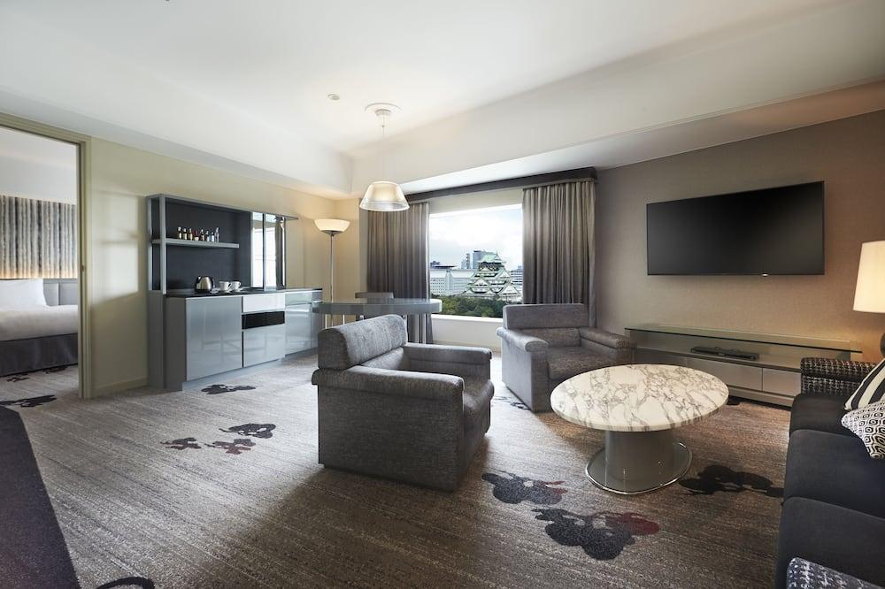 Executive Suite 70-77sqm, Triple use - High floor Guaranteed - Living Room