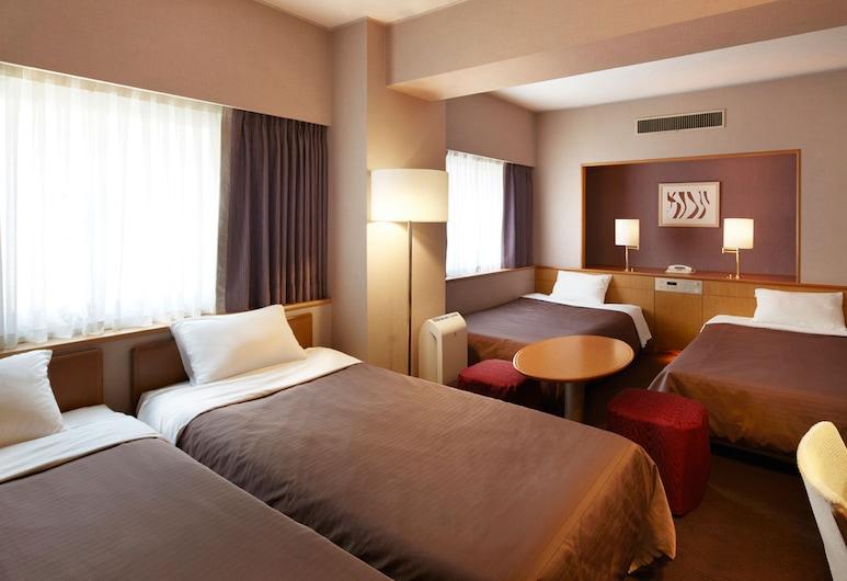 호텔 뉴 한큐 오사카, 오사카, 쿼드룸, 흡연, 객실