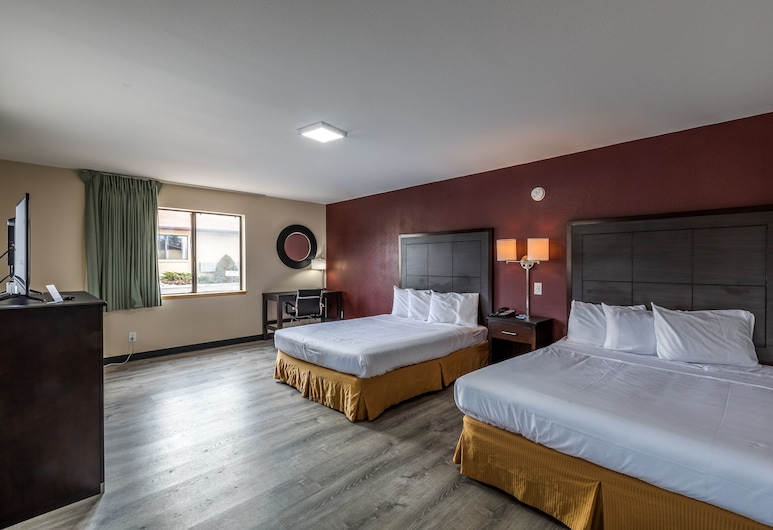Rodeway Inn Williams Route 66-Grand Canyon Area, Williams, Standard Room, Multiple Beds, Non Smoking, Guest Room