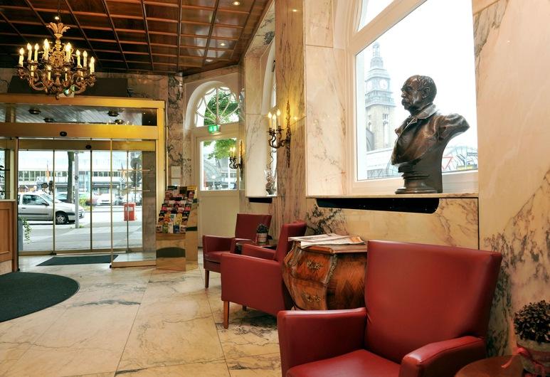 Hotel Fürst Bismarck, Hamburg, Sitzecke in der Lobby