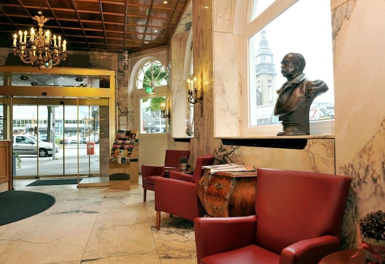 Hotel Fürst Bismarck, Hamborg, Siddeområde i lobby