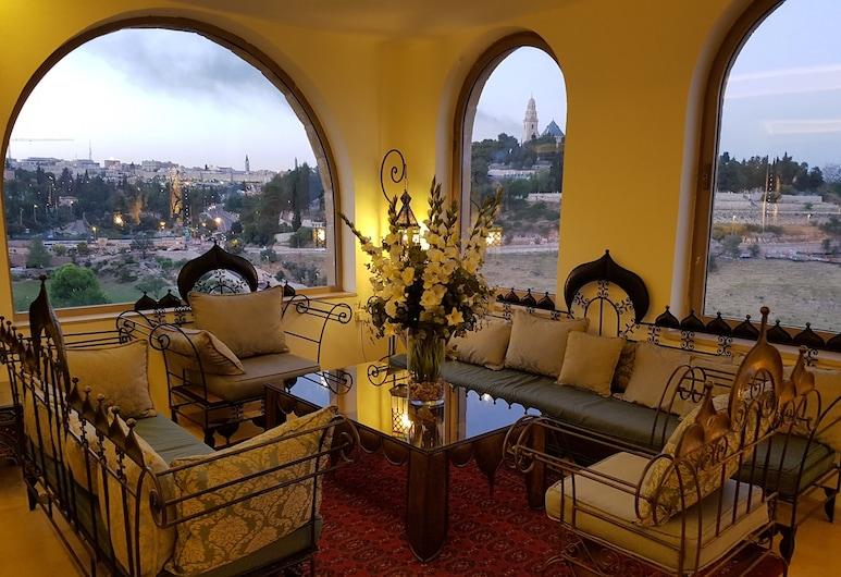 Mount Zion Boutique Hotel, Jeruzalem, Priestory na sedenie v hale