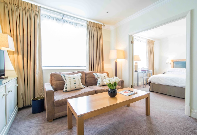 The Capital Hotel, Apartments & Townhouse, London, One Bedroom Apartment, Wohnbereich