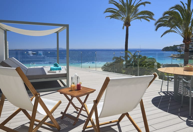 Sol Beach House Mallorca - Adult Only, Calvia, Junior lakosztály (Xtra Beach House Master), Terasz/udvar