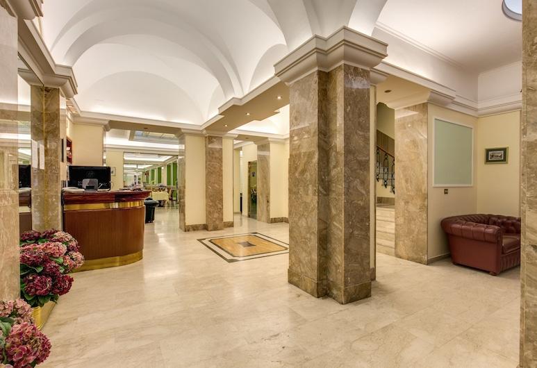 伊賈酒店, 羅馬, 大堂
