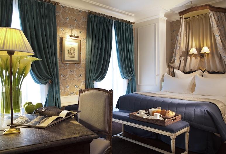 Hôtel de Buci, Pariisi, Deluxe - kahden hengen huone, Vierashuone