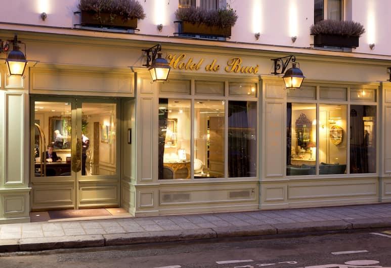 德布馳酒店, 巴黎, 外觀