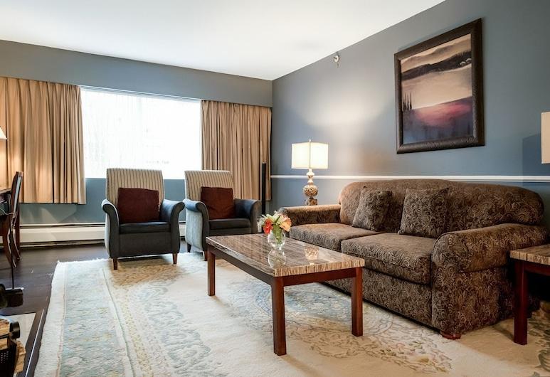 Rosellen Suites At Stanley Park, Vancouver, Living Room