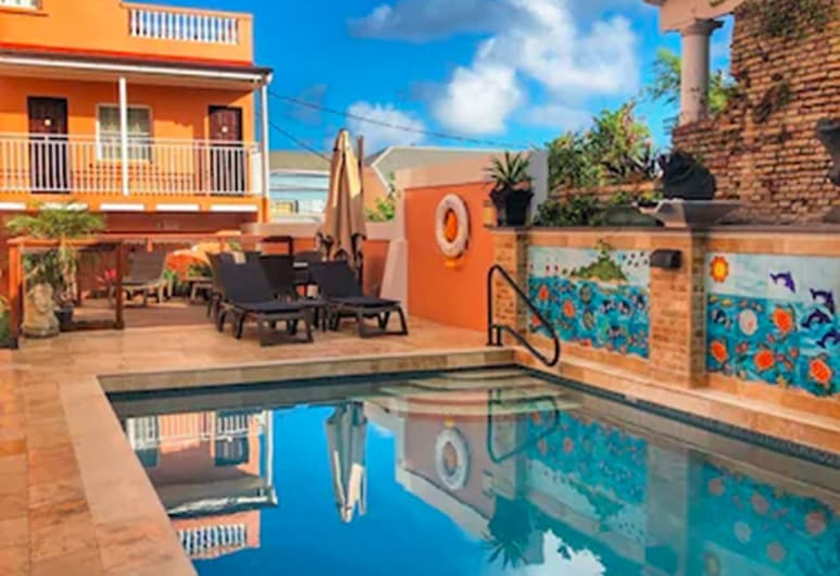 Company House Hotel, Christiansted, Alberca