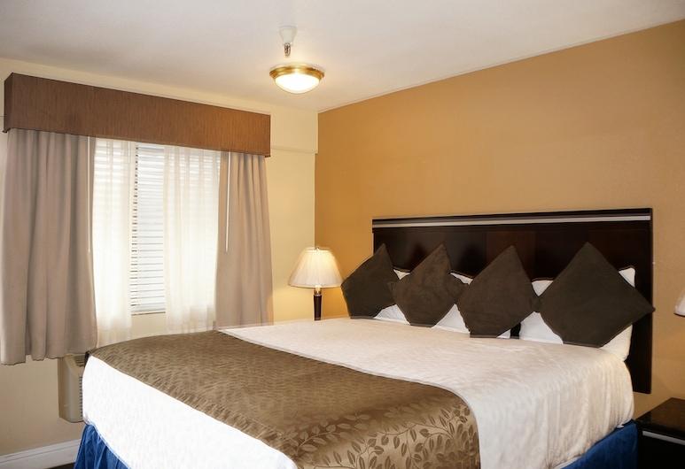 Executive Inn Hotel, Milpitas, Standarta numurs, 1 divguļamā karaļa gulta, Viesu numurs