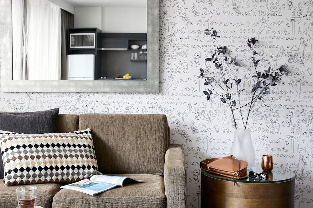 Studio Apartment - Svetainės zona