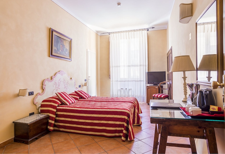 Hotel Galileo, Florence, Chambre Double Standard pour 1 personne, Chambre