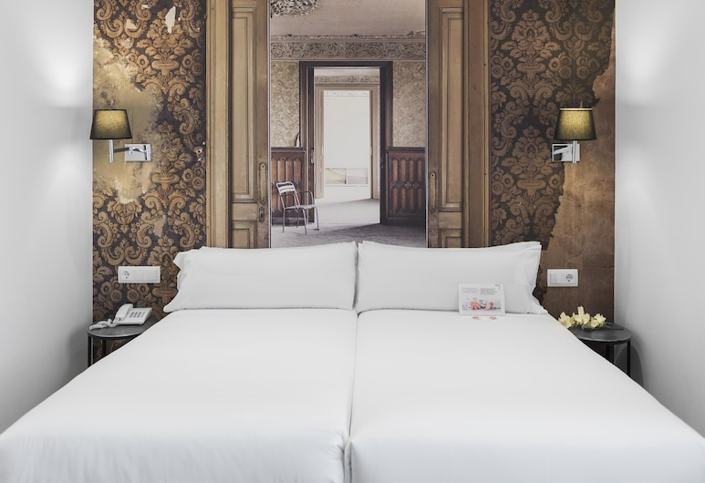 Mesón Castilla Atiram Hotel, Barcelone, Chambre avec lits jumeaux, Chambre
