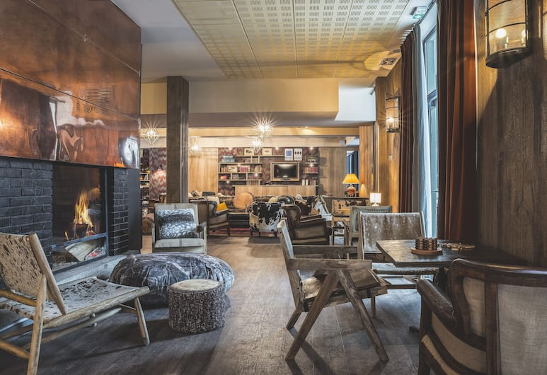 Hôtel Le Refuge des Aiglons, Chamonix-Mont-Blanc, Hotelli sohvabaar