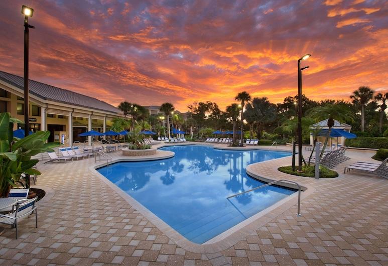 Marriott's Royal Palms, Orlando, Basen odkryty