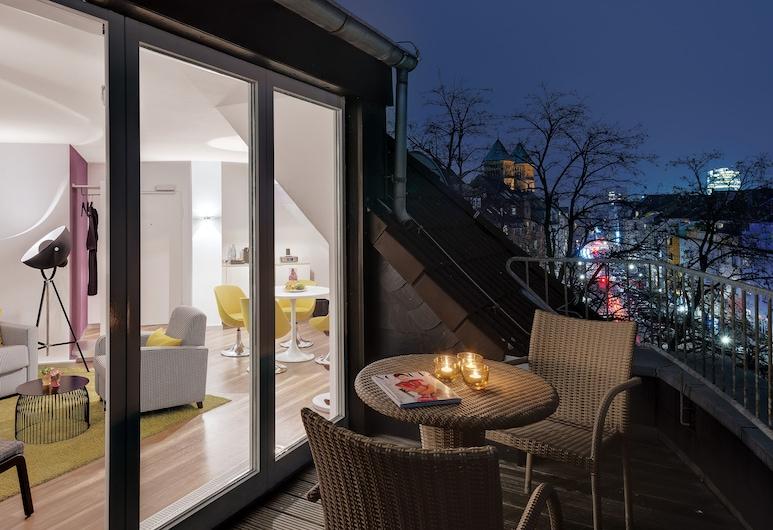 Hotel Indigo Düsseldorf - Victoriaplatz, Düsseldorf, Apartmá, dvojlůžko (200 cm), nekuřácký, Pokoj