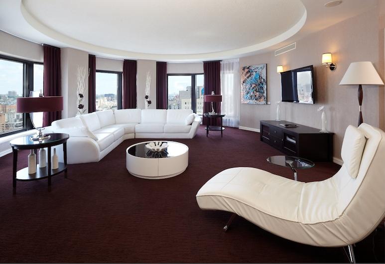 InterContinental Montreal, Montreal, Suite Presidencial, 1 cama king-size, Quarto