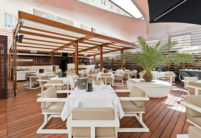 Wellington Hotel, Madrid, Terrasse/Patio