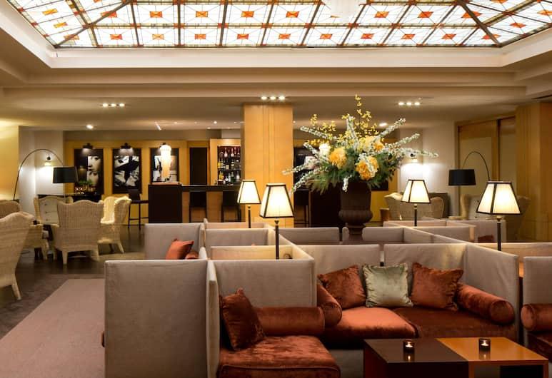 Starhotels Metropole, Rome, Hotel Lounge