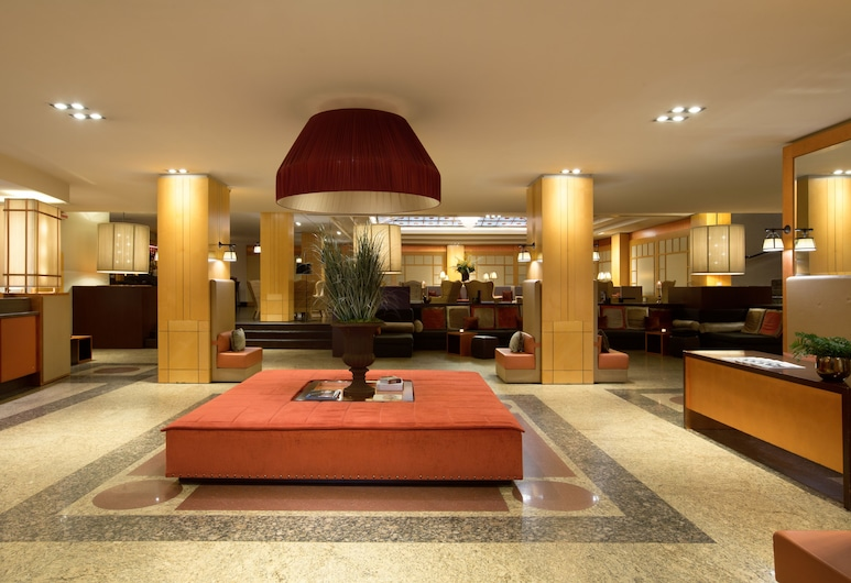 Starhotels Metropole, Rome, Interior Entrance