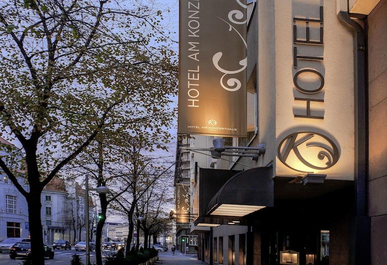Hotel Am Konzerthaus Vienna - MGallery, Viena, Fachada do hotel (à noite)