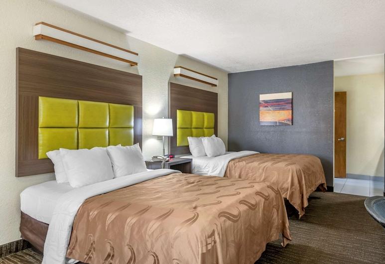 Quality Inn San Angelo, San Angelo, Štandardná izba, 2 veľké dvojlôžka, nefajčiarska izba, Hosťovská izba