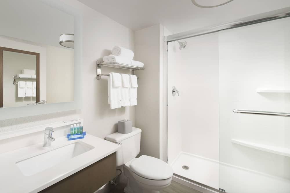 Nemdohányzó szoba egy king-size ággyal - Fürdőszoba